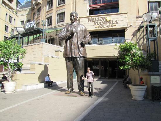 Greater Johannesburg, Sør-Afrika: sandton city
