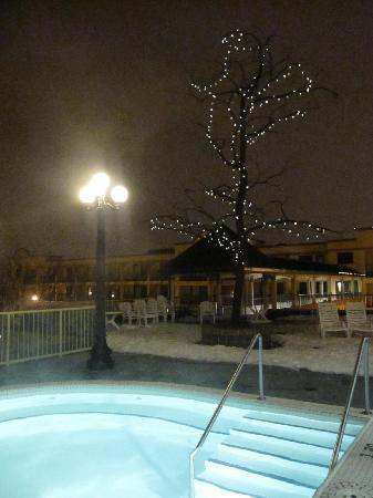 Temple Gardens Hotel & Spa: Outdoors in the snow