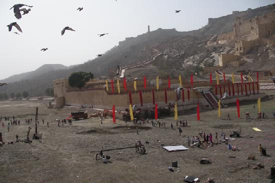 Umaid Mahal: Amber Fort filmaufnahmen