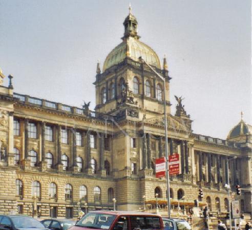 Praha, Tsjekkia: National museum