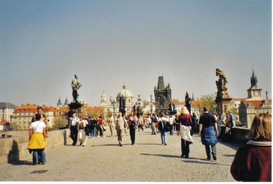 Praha, Tsjekkia: Charles Bridge