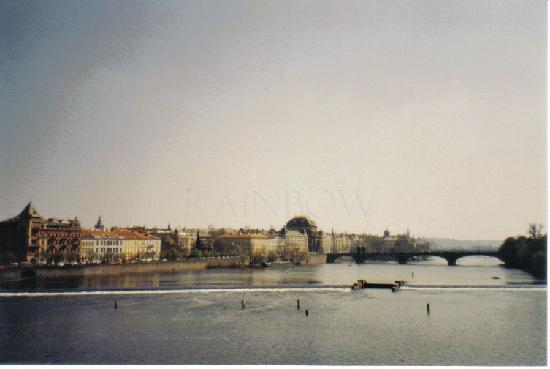 Praha, Tsjekkia: Moldau