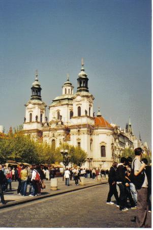 Praha, Tsjekkia: Sint Nicolaschurch