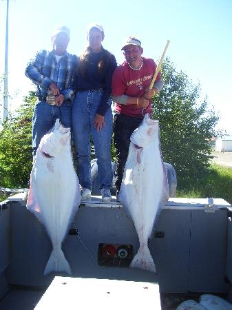 Alaska Fishing & Lodging: Halibut catch out of Anchor Point