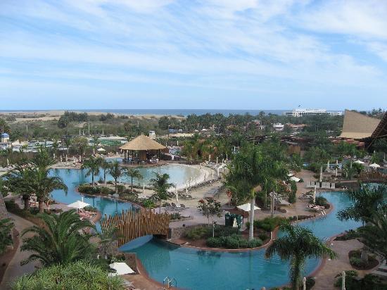 Lopesan Baobab Resort: VISTA DALLA CAMERA