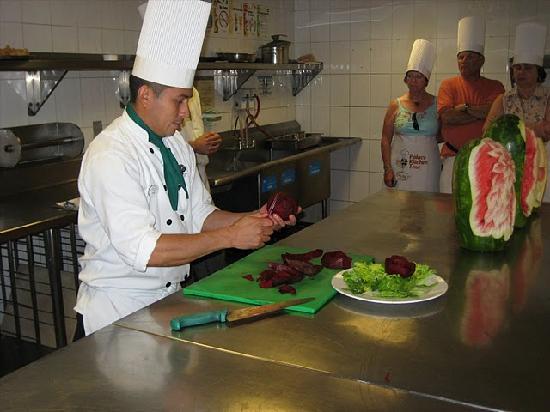 Heaven at the Hard Rock Hotel Riviera Maya: Kitchen tour