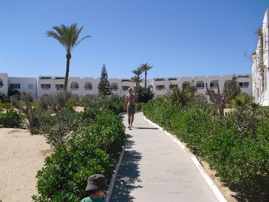 Djerba Sun Club: les bâtiments chambre