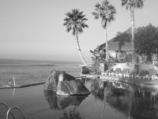 Rosarito, Mexico: Infinity Pool