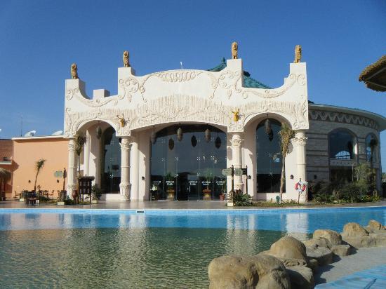 Jungle Aqua Park: the back of the hotels reception