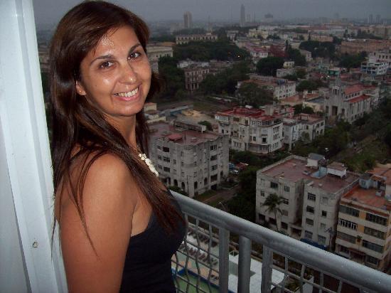 Tryp Habana Libre: Vista desde el balcón del piso 14