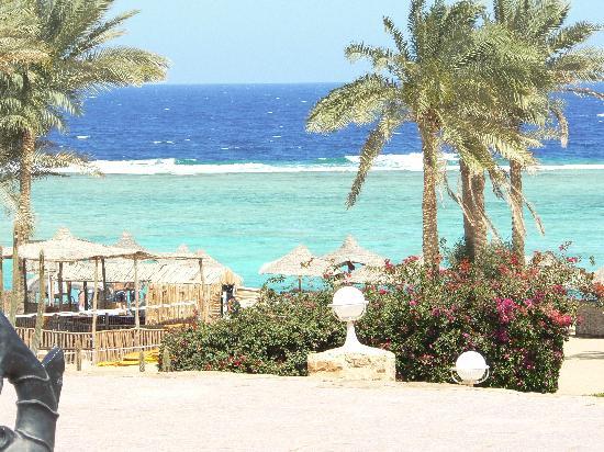 Kahramana Beach Resort: VISUALE DALLA STANZA