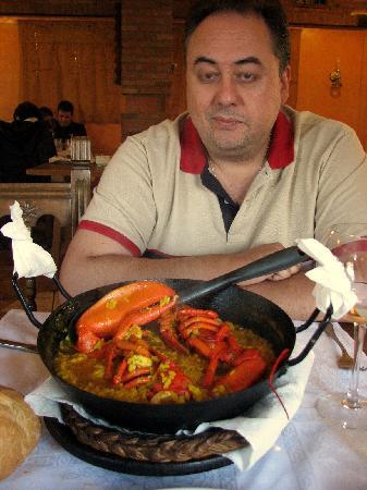 Almenara de Catalucia: Arroz
