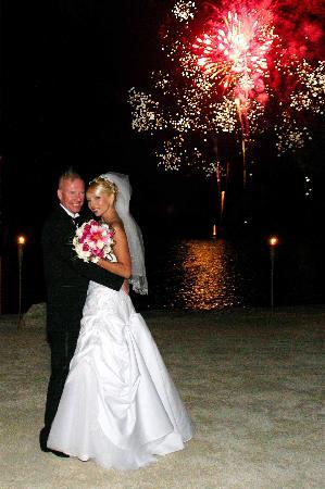 Coconut Cove Resort and Marina: Fireworks