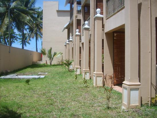Jalsa Beach Hotel and Spa: terrasse chambre