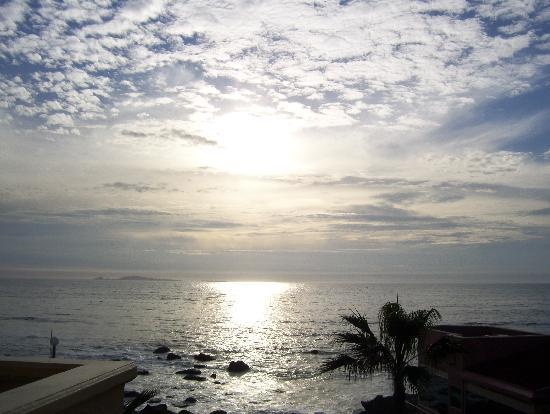 Punta Morro Hotel Suites: sunset