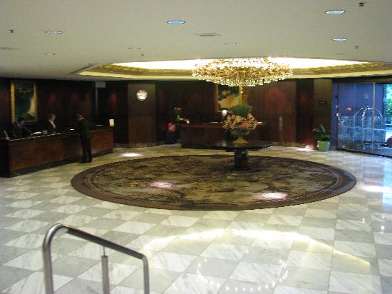 Cordis, Auckland: Lobby