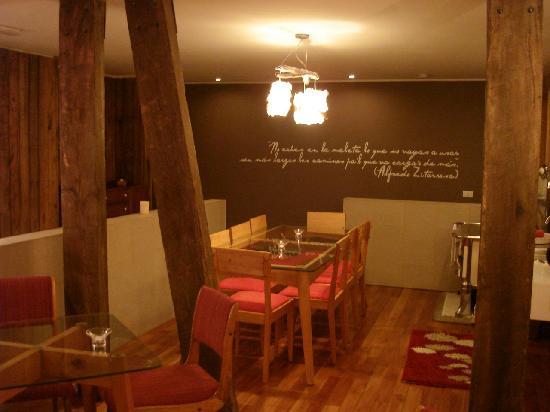 Ilaia Hotel: su interior
