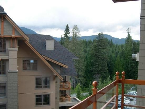 Four Seasons Resort and Residences Whistler: View from our balcony.