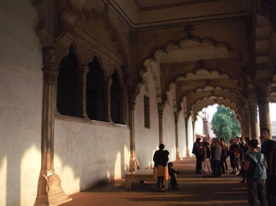 Agra Fort: beautiful color