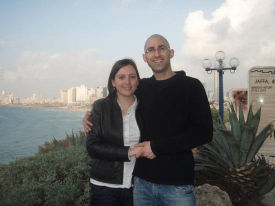 Bat Yam, Israel: Uri and me