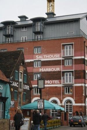 Ipswich, UK: The hotel we stayed in for Valentines Day