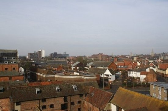 Ipswich, UK: View from our room