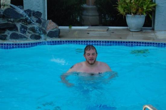 Port Saint Lucie, Φλόριντα: Mark swimming