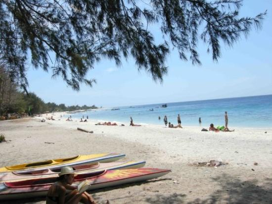 Gili Islands: gili trawangan