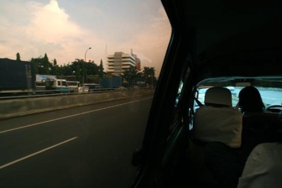 Jakarta to Bandung, Java