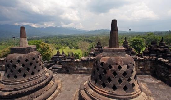Temple of Borobudur, Java