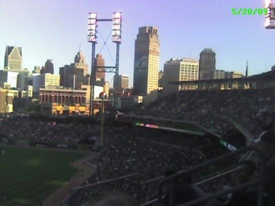 Comerica Park: Game with a view