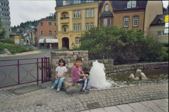 Hannah and Nick in Idar-Oberstein