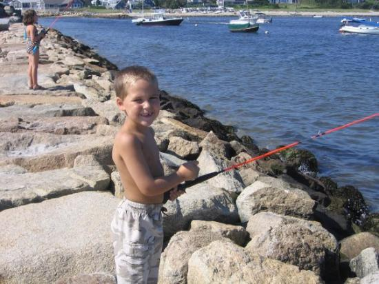 Harwich Port, MA: Nicholas the fisherman