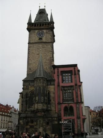 Old Town Hall and Astronomical Clock: clock tower