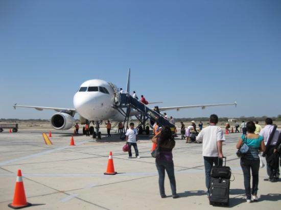 Piura, Peru: My plane back to Lima