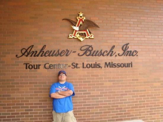 Saint Louis, MO: Anheuser - Busch Brewery in St. Louis, Mo.