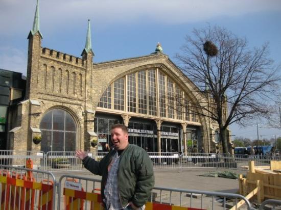 Göteborg, Sverige: The central trainstation