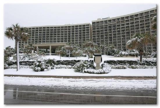 The day it snowed in Galveston
