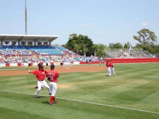 Sarasota, FL: Reds Spring Training