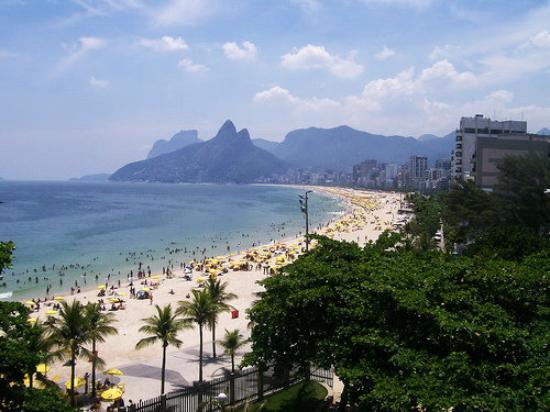 Ipanema Beach: Rio de Janeiro - Vista desde Arpoador hacia la Playa de Ipanema