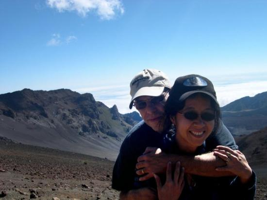 Haleakala National Park, HI: In the crater of Haleakala