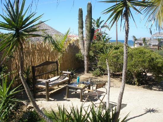 Gypsy's by the Sea - Beach Guest House: Lush breky' spot.