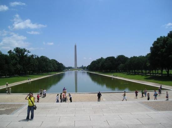 Washington Monument: Washinton Monument and Reflection Pool