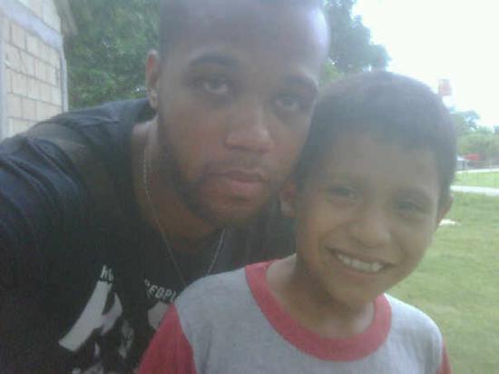 Campeche, Mexico: Diego y yo.