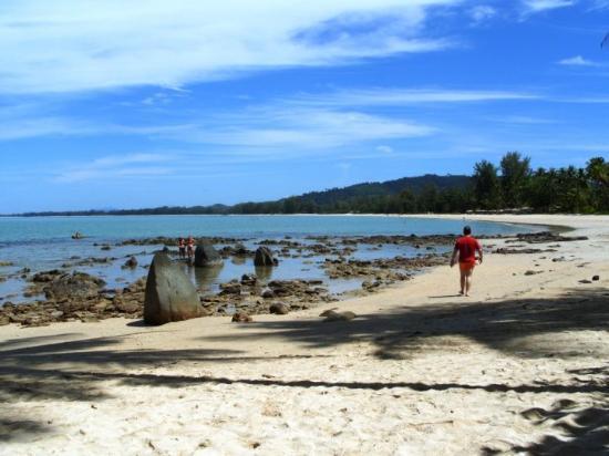 Takua Pa, Thailand: you can walk, and walk, and walk...