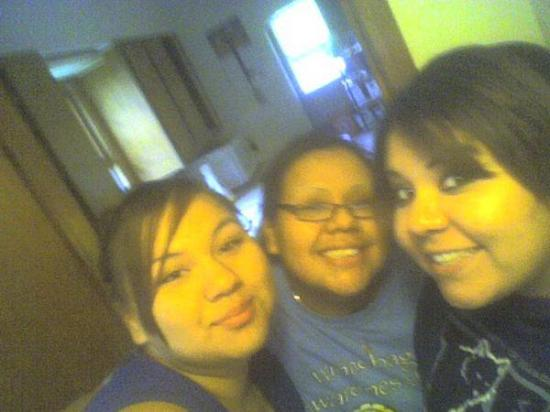 Sierra, Cheyanne, and me JUST CHILLAN!!! Homer, NE, United States