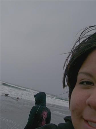 Beast, Shwill, Ashley, and I at the BEACH on 4:20 what a blast Eureka, CA, United States