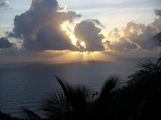 Sunrise in Dominica