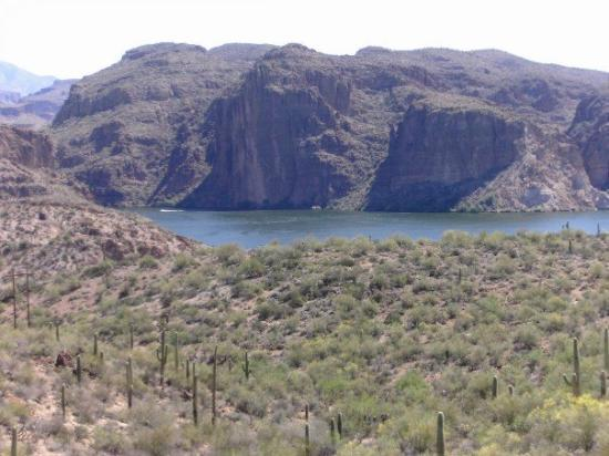 Bilde fra Apache Lake