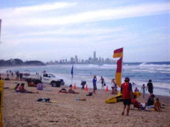 Surfers Paradise, Australia: Burleigh, I think?
